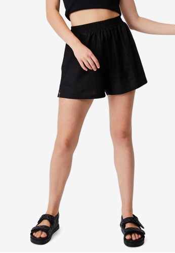 Cotton On black Sunseeker Shorts 7F681AAB819AC9GS_1