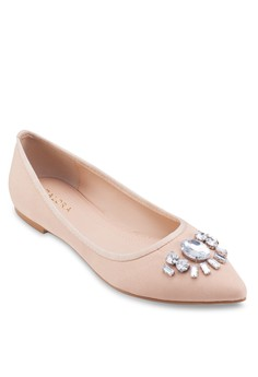 Ballerinas with Stones Embellishments