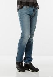 Levi's blue Levi's 511 Slim Fit Jeans (Blue) LE815AA0SBCZMY_1
