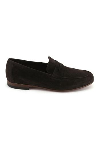 BATA Bata Men Dress Shoes - Dark Brown 8364396 AC670SH6B7ECC5GS_1