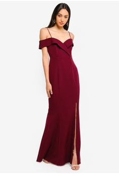 2e242beac23 Forever New Sara Off Shoulder Gown RM 599.00. Sizes 8 10 14 16