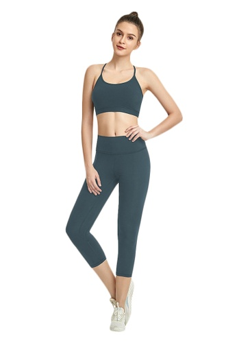 B-Code navy ZWG7013Lady Quick Drying Running Fitness Yoga Sports Leggings -Navy ABA8BAAC90E89FGS_1