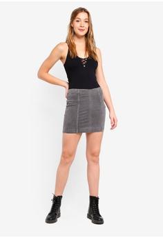 9873b5d03187 80% OFF Free People Skirt Modern Femme Denim Mini RM 309.00 NOW RM 61.90  Sizes 0 2 4 6