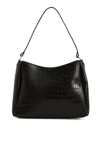 KOTON black PU Shoulder Bag 6C2B3AC7D6FFE5GS_1