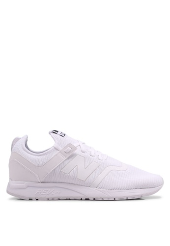 New Balance white 247 Deconstructed Lifestyle Sneakers 12581SH3802DB5GS_1