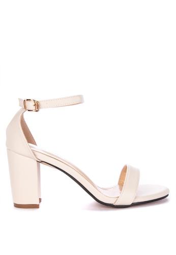 4afe267c3 Shop Rock Rose Basic Block Heel Sandals Online on ZALORA Philippines