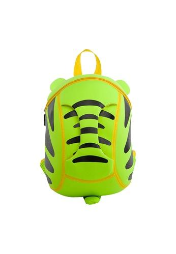 Nohoo green Nohoo Kids Backpack Tiger (Green) 67E24KC008C165GS_1