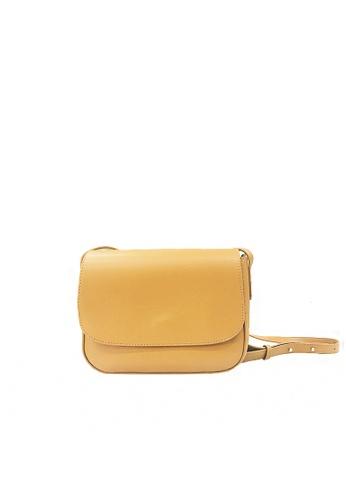 GreyPlus beige Aulia Sling Bag 03D98ACF3752B3GS_1