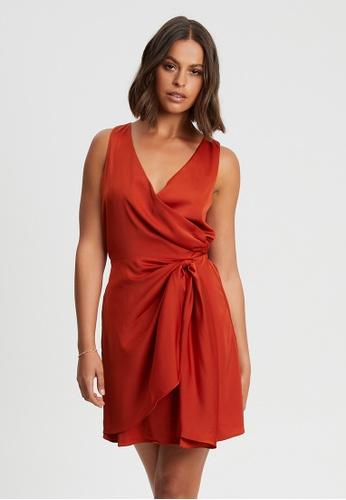 BWLDR orange Night Sky Dress DED9BAAE4854ADGS_1