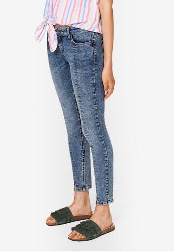 ESPRIT blue Denim Skinny Jeans B5179AA9DA178EGS_1