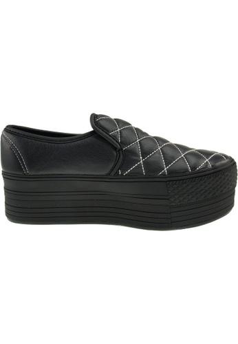 Maxstar black Maxstar Women's C50 Stitched Platform PU Slip On Shoes US Women Size MA164SH88FMLSG_1