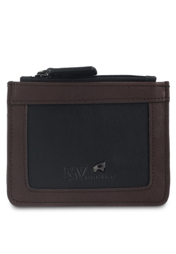 RAV Design black Leather Card Holder 60A9DAC5ED1072GS_1