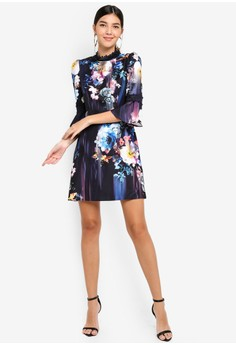 e98880d3807 38% OFF Little Mistress Floral Blur Shift Dress Rp 1.059.000 SEKARANG Rp  656.900 Ukuran 6