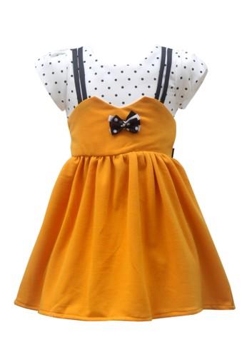 TWO MIX yellow Two Mix Baju Anak Perempuan / Dress Anak Cewek 2987 36435KA2FBDB0FGS_1