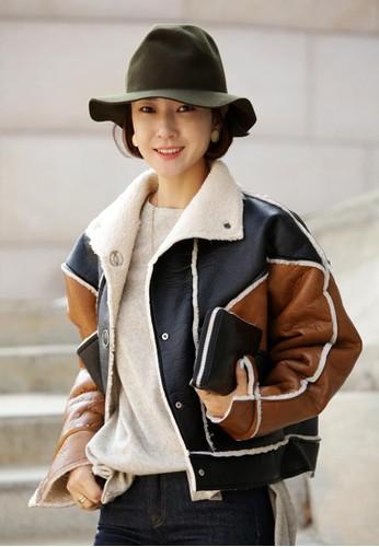 仿麂esprit 寢具皮絨外套, 服飾, 夾克 & 大衣