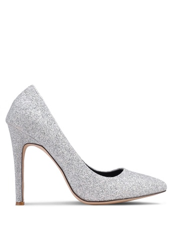 0ccb5409543 Buy Nose Glitter Pointy Toe Heel Pumps Online on ZALORA Singapore