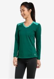 AVIVA green Long Sleeve Tee AV679AA0S9G9MY_1