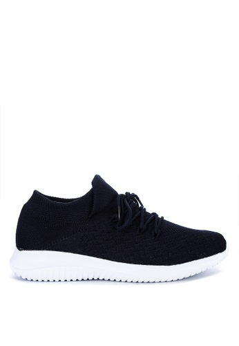 Appetite Shoes blue Lace Up Sneakers AE1F4SH195739AGS_1