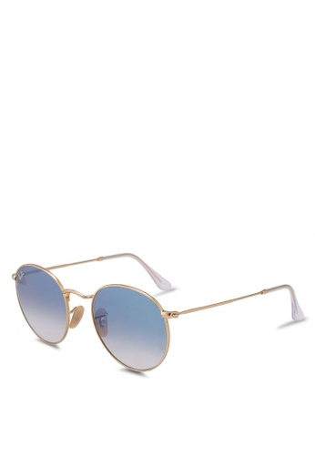 Ray-Ban gold RB3447N Sunglasses 912FAGLBB1AF14GS_1