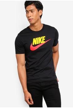 8904ae0ed Nike black Nike Men's Icon Futura Tee 47118AAB0F7C7DGS_1