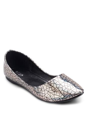 休閒平底esprit分店鞋, 女鞋, 芭蕾平底鞋
