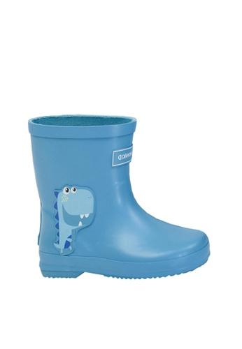 Twenty Eight Shoes blue VANSA Stylish Short Rain Boots VSK-R012012 11F6BKS5E33C4AGS_1