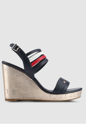17984dbff2af Buy Tommy Hilfiger STRAPPY WEDGE SANDAL Online on ZALORA Singapore