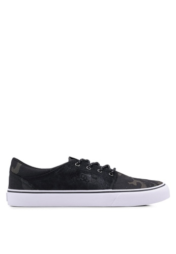 DC Shoes black Trase TX SE Shoes D00D7SH35B55CFGS_1