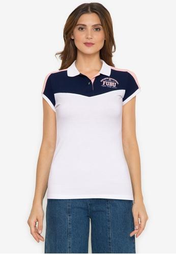 Fubu Queens white Pique Collar Shirt 7B030AA24F3FACGS_1