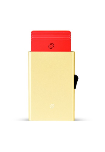 C-Secure gold C-Secure Aluminium Cardholder (Champagne Gold) B232DACCD0707BGS_1