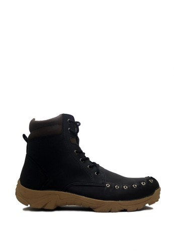 D-Island black D-Island Shoes Boots Style Mens Leather Black DI594SH0VOGCID_1
