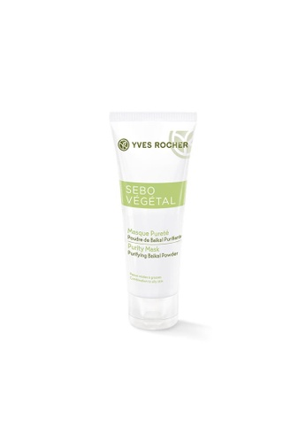 Yves Rocher Yves Rocher Sebo Vegetal - Purity Mask 75ml YV348BE0RW2OMY_1