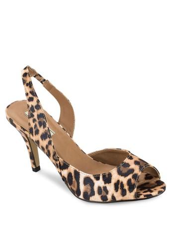 尖頭露趾繞踝高跟涼鞋, 女鞋, esprit hong kong 分店鞋