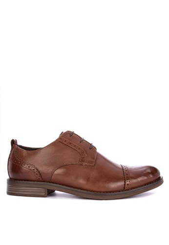 Rockport brown Wynstin Cap Slipon Formal Shoes C1395SH020A8ADGS_1