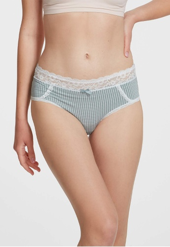 6IXTY8IGHT green MAJORELLE SOLID, Modal Hiphugger Panty PT10467 27DD2US6FBF655GS_1