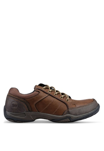 Weinbrenner brown Laced Up Shoes D2C77SH7C009F2GS_1