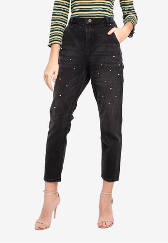 ESPRIT black Denim Length Service Pants ED247AAA525CD7GS_1