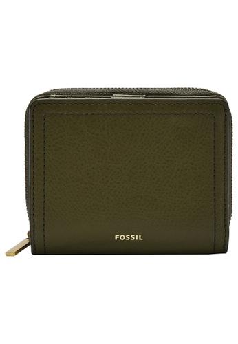 Fossil green Logan Wallet SL7923376 8B9D9ACFA773A9GS_1