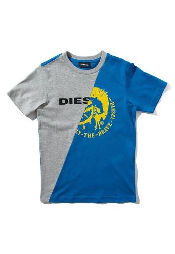 Diesel Dual Color T-shirt D1356KAEA8A96AGS_1