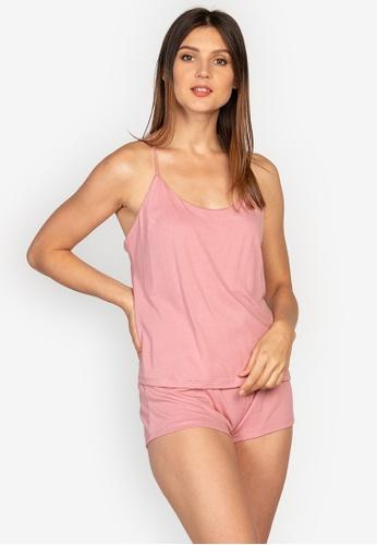 moondaze pink Lauren Teddy Sleepwear Set 453AEAA75AF51CGS_1
