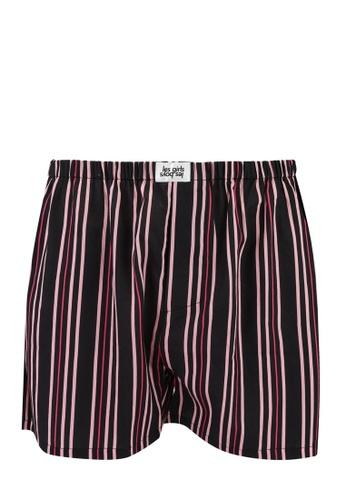 Les Girls Les Boys black Stripe Boxers 87345US031F1F3GS_1
