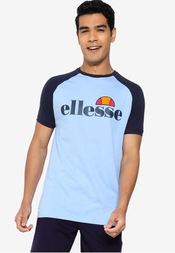 ellesse blue Corp Tee 97597AA4A469D3GS_1