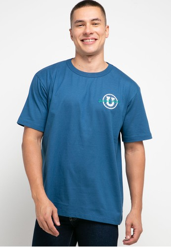 Jimmy Martin blue The Bronco Brothers Tee 01584AA62669ABGS_1