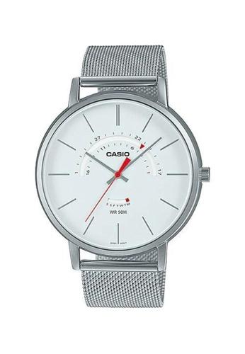 Casio silver Casio Classic Analog Dress Watch (MTP-B105M-7A) 6312FACBB54F76GS_1