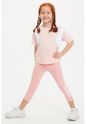 DeFacto pink Girl Knitted Legging 8F613KA373BEA5GS_1