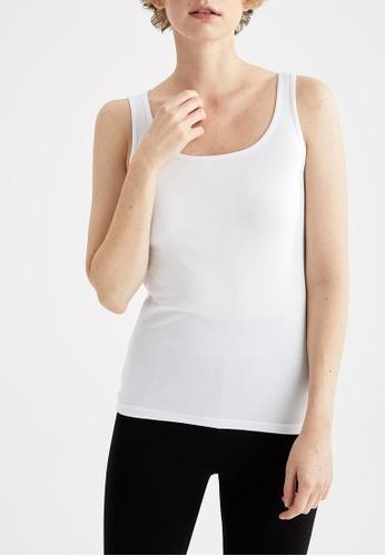 DeFacto white Woman Underwear Athlete B9CEAAA4C8ACA9GS_1