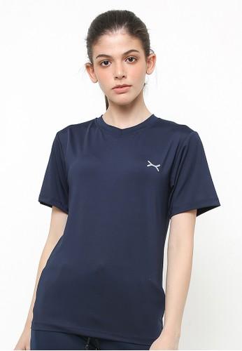 Flexzone blue FLEXZONE Sports Tee Women Multisport Series Navy 53AD2AA4D213E3GS_1