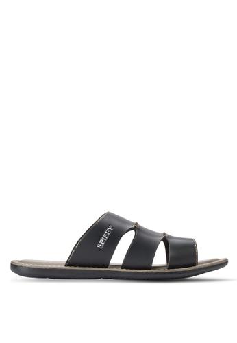 Spiffy black Stylish Sandals SP352SH64IOXMY_1