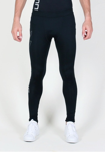 AMNIG black Amnig Men Maxforce Victory Compression Long Pants AM133SE01XXQMY_1