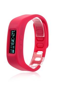 Unisex Silicon Strap Health Watch